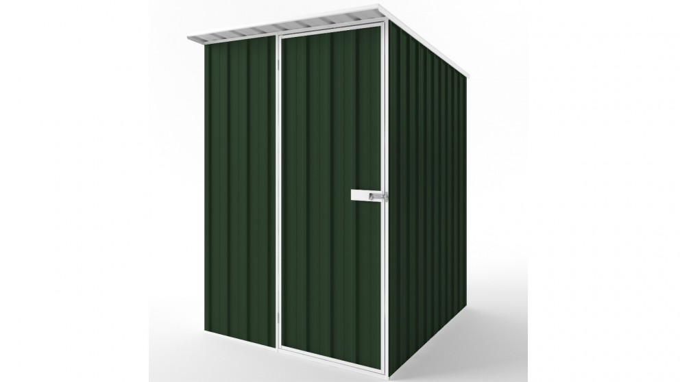 EasyShed S1519 Skillion Roof Garden Shed - Caulfield Green