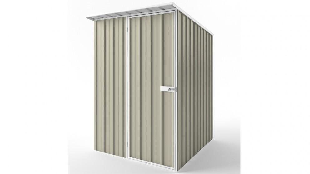 EasyShed S1519 Skillion Roof Garden Shed - Merino