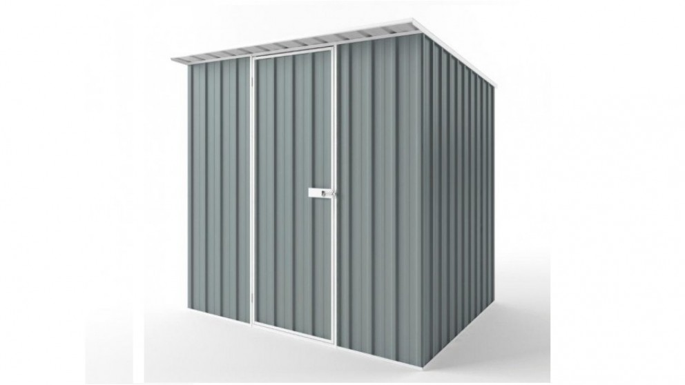 EasyShed S2319 Skillion Roof Garden Shed - Armour Grey