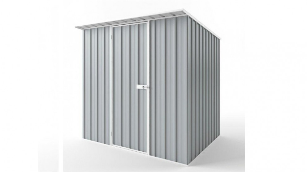 EasyShed S2319 Skillion Roof Garden Shed - Gull Grey