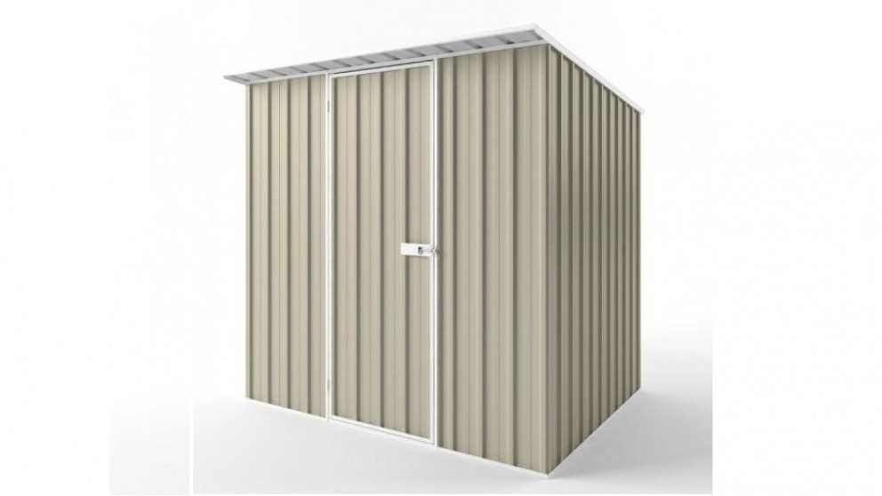 EasyShed S2319 Skillion Roof Garden Shed - Merino