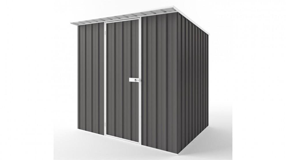 EasyShed S2319 Skillion Roof Garden Shed - Slate Grey