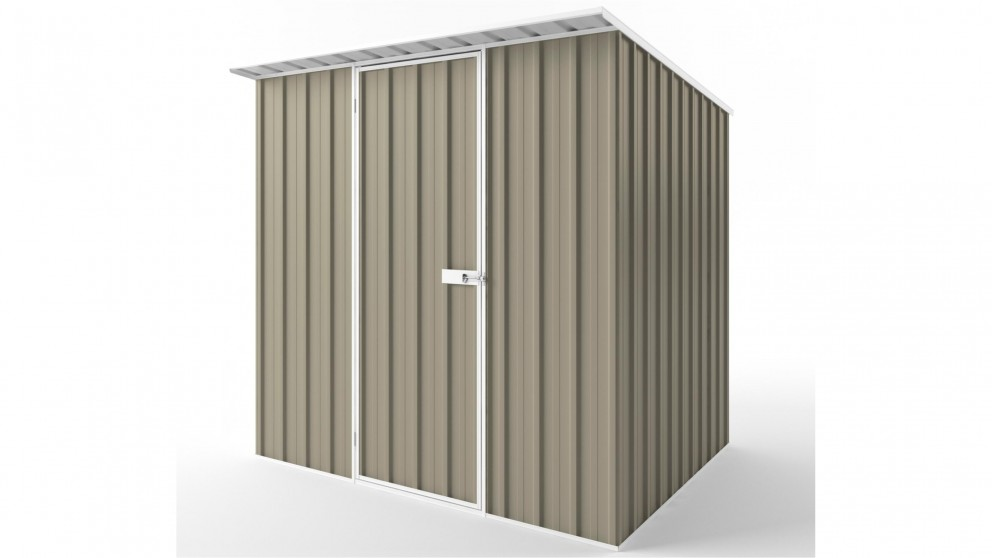 EasyShed S2319 Skillion Roof Garden Shed - Stone