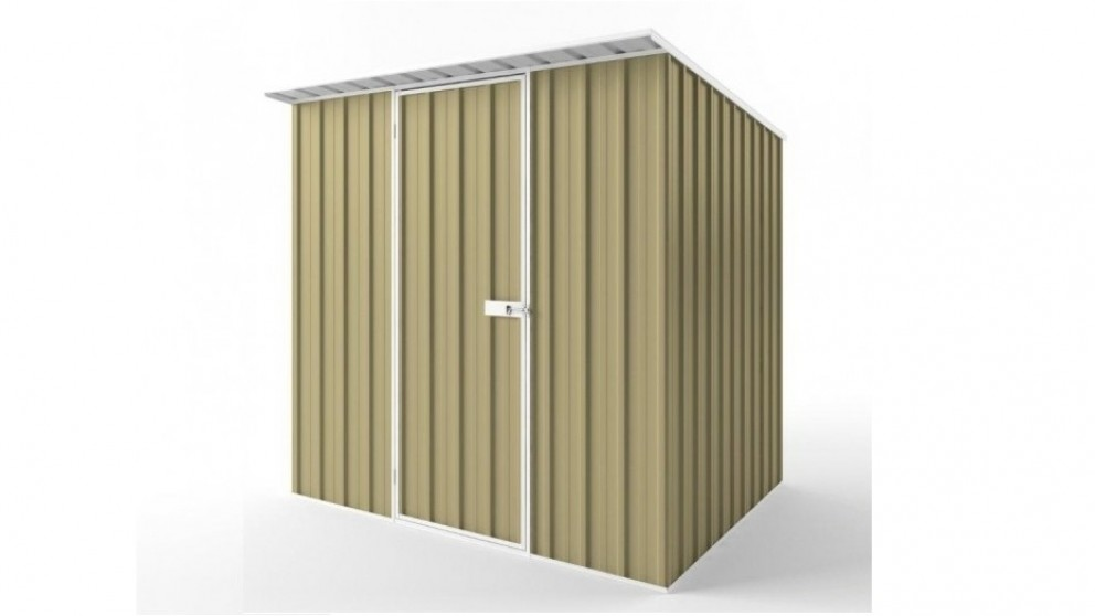 EasyShed S2319 Skillion Roof Garden Shed - Sandalwood