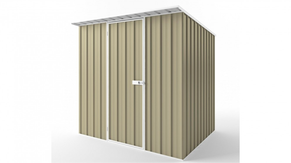 EasyShed S2319 Skillion Roof Garden Shed - Wheat