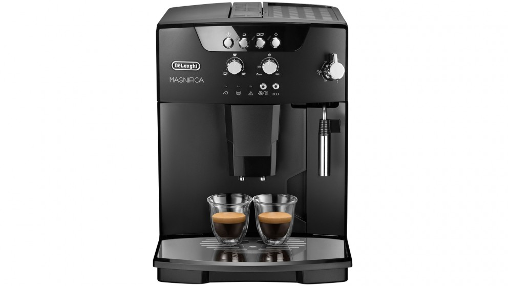 buy delonghi magnifica automatic coffee machine black. Black Bedroom Furniture Sets. Home Design Ideas