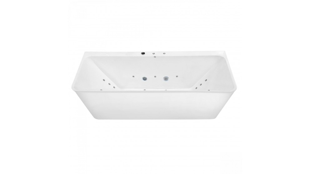 Buy Entrend Design Escape Back to Wall Body Therapy Freestanding Spa ...