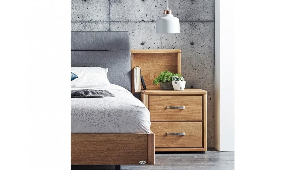 easton 2 drawer bedside table
