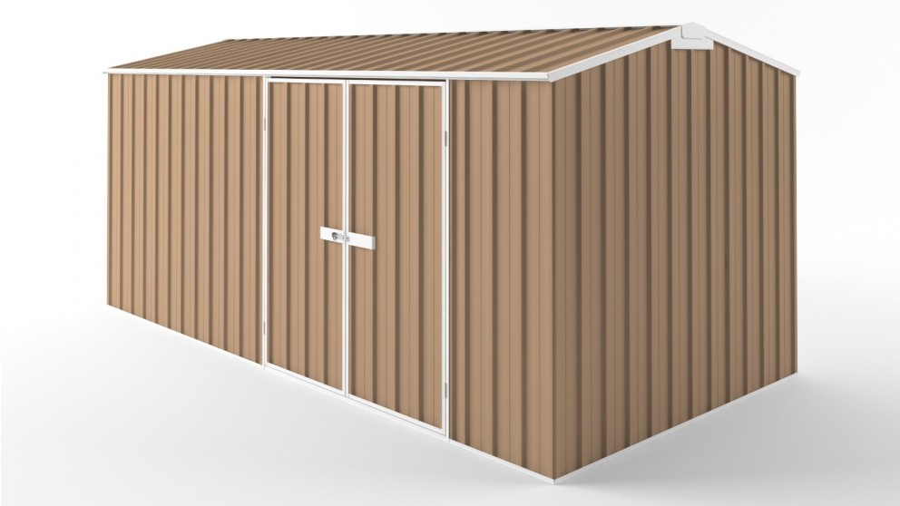 EasyShed D4523 Truss Roof Garden Shed - Pale Terracotta