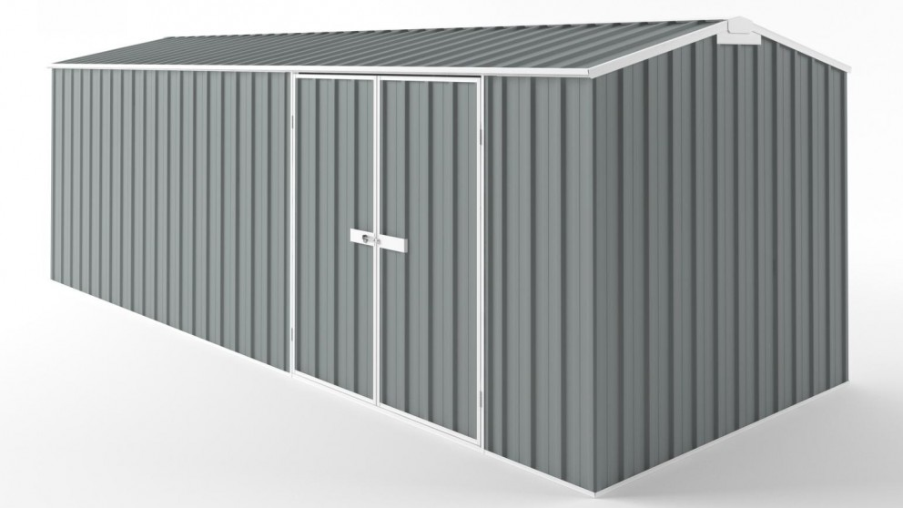 EasyShed D6023 Truss Roof Garden Shed - Armour Grey