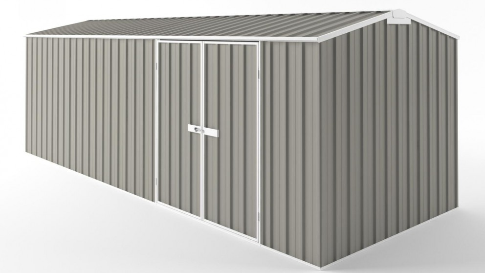 EasyShed D6023 Truss Roof Garden Shed - Birch