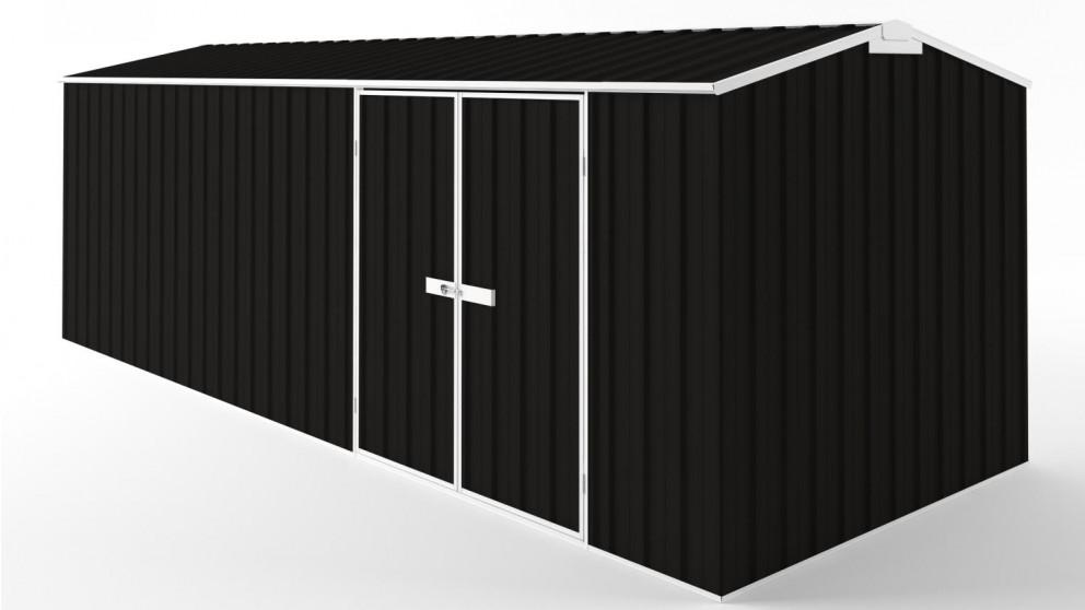 EasyShed D6023 Truss Roof Garden Shed - Ebony