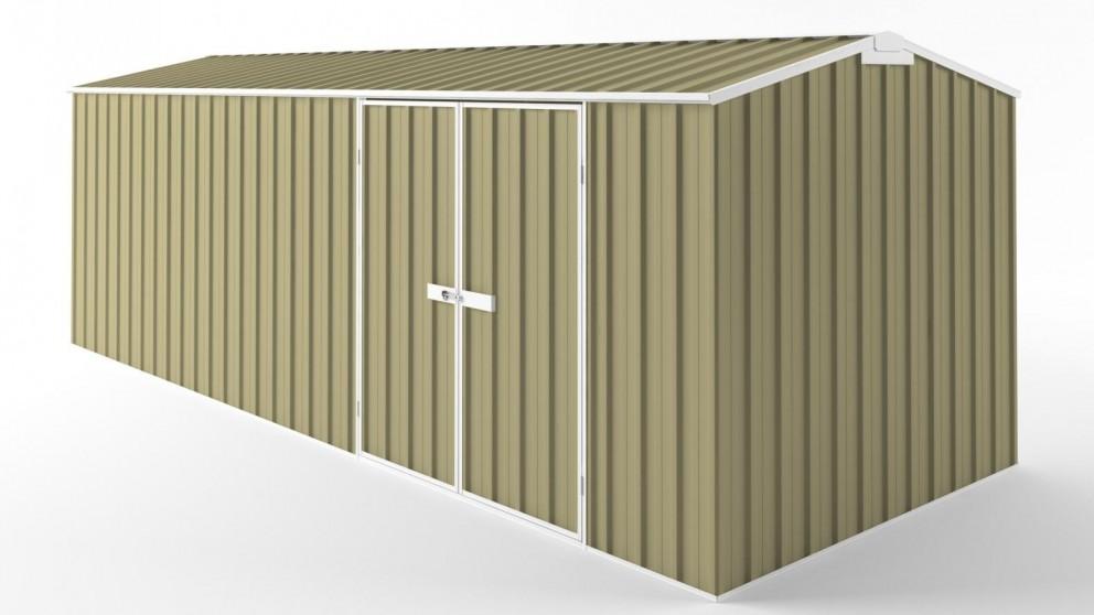 EasyShed D6023 Truss Roof Garden Shed - Sandalwood
