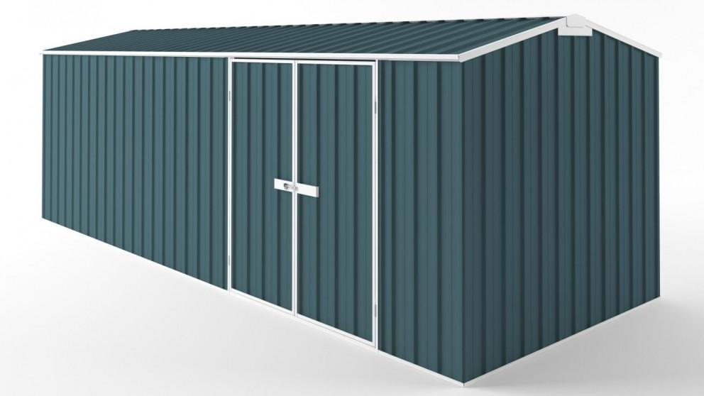 EasyShed D6023 Truss Roof Garden Shed - Torres Blue