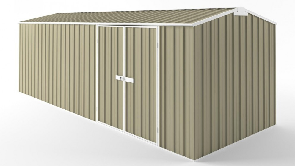 EasyShed D6023 Truss Roof Garden Shed - Wheat
