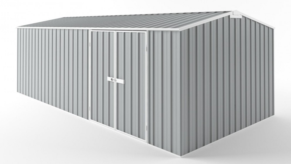 EasyShed D6030 Truss Roof Garden Shed - Gull Grey