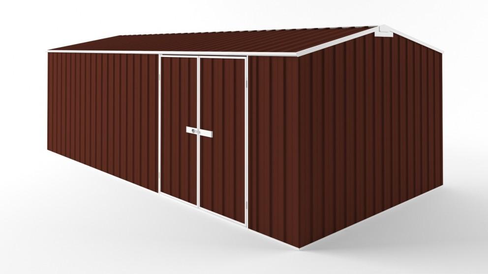 EasyShed D6030 Truss Roof Garden Shed - Heritage Red
