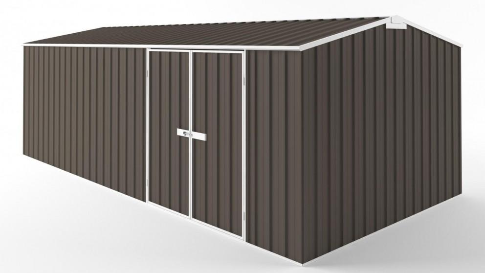 EasyShed D6030 Truss Roof Garden Shed - Jasmine Brown