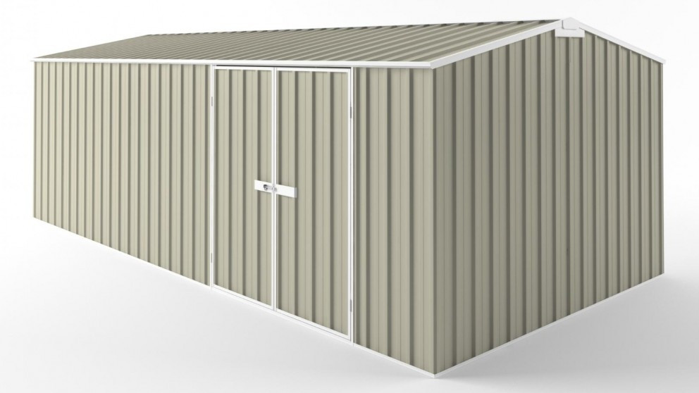 EasyShed D6030 Truss Roof Garden Shed - Merino