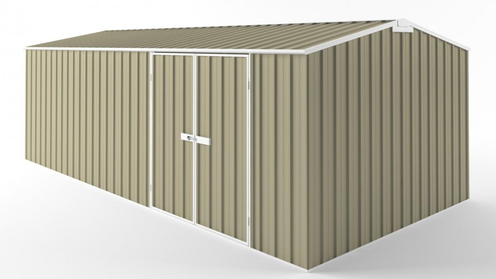 EasyShed D6030 Truss Roof Garden Shed - Wheat