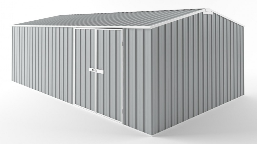 EasyShed D6038 Truss Roof Garden Shed - Gull Grey