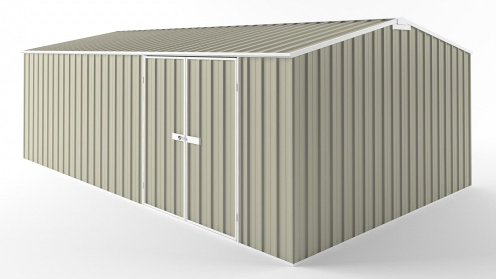 EasyShed D6038 Truss Roof Garden Shed - Merino