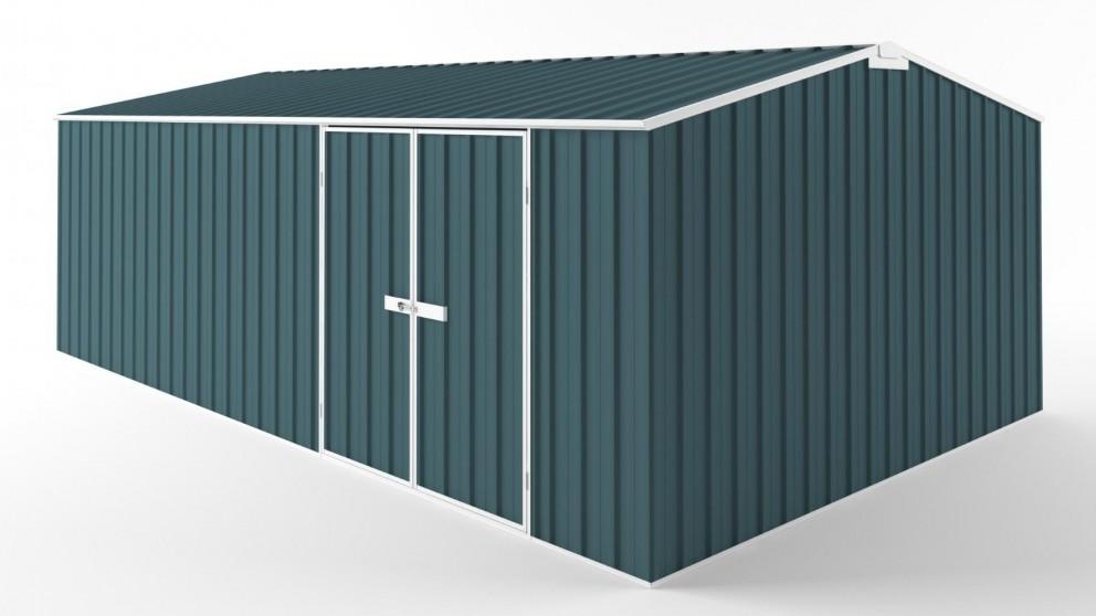 EasyShed D6038 Truss Roof Garden Shed - Torres Blue