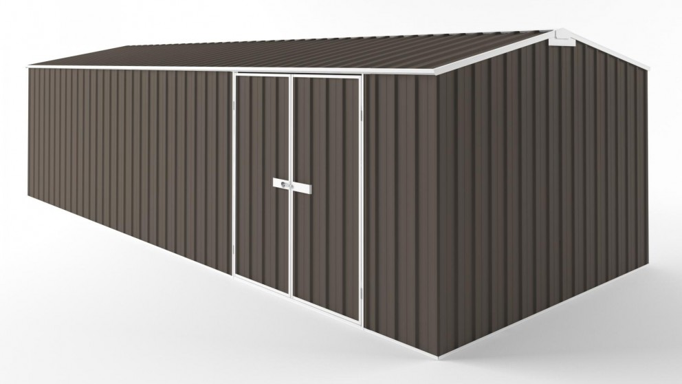 EasyShed D7530 Truss Roof Garden Shed - Jasmine Brown