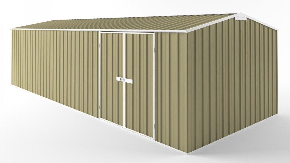 EasyShed D7530 Truss Roof Garden Shed - Sandalwood