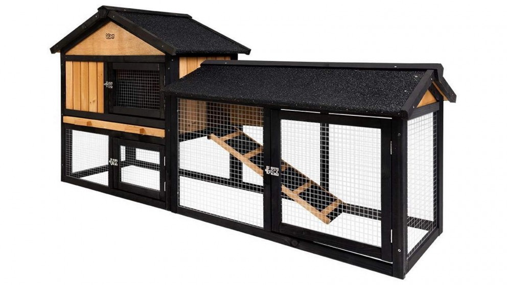 i.Pet Large Rabbit Hutch Animal Enclosure