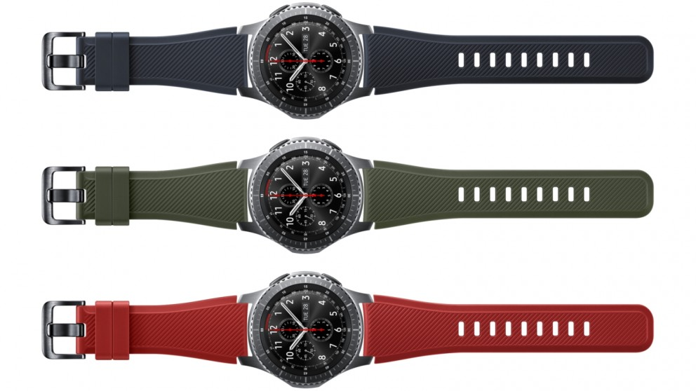 Samsung Gear S3 Active Silicone Band