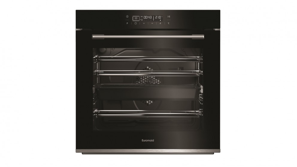 Euromaid Eclipse 600mm Full-Touch 13 Function Oven - Black