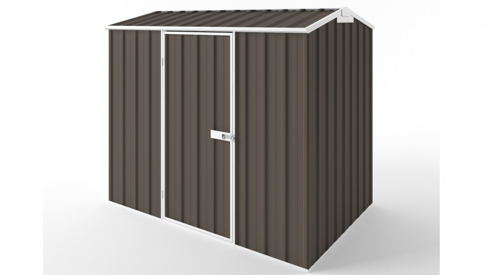 EasyShed S2315 Tall Gable Garden Shed - Jasmine Brown