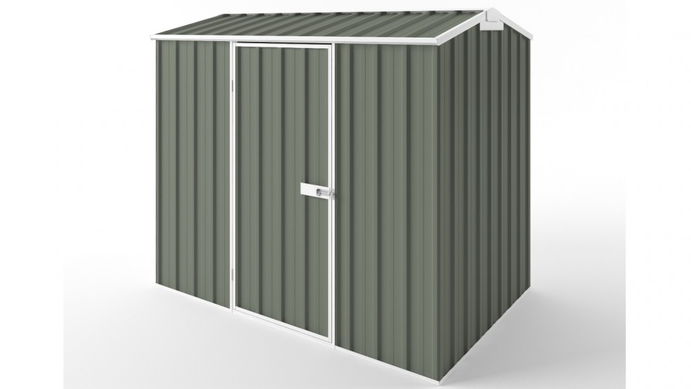 EasyShed S2315 Tall Gable Garden Shed - Mist Green