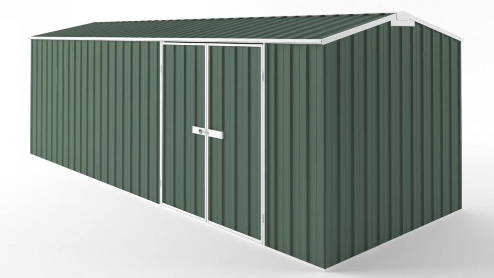 EasyShed D6023 Tall Truss Roof Garden Shed - Rivergum