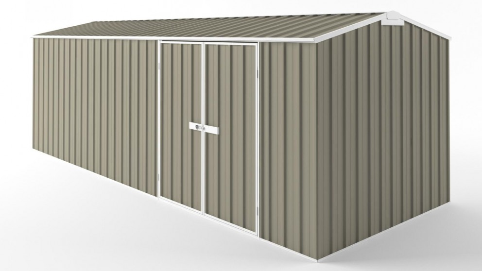 EasyShed D6023 Tall Truss Roof Garden Shed - Stone