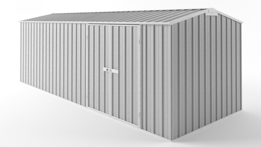 EasyShed D6023 Tall Truss Roof Garden Shed - Zincalume