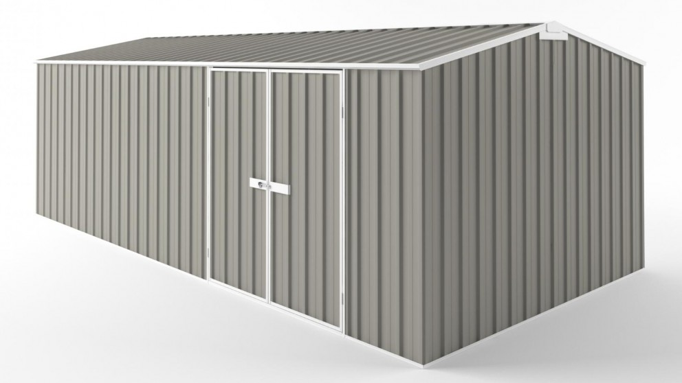 EasyShed D6030 Tall Truss Roof Garden Shed - Birch