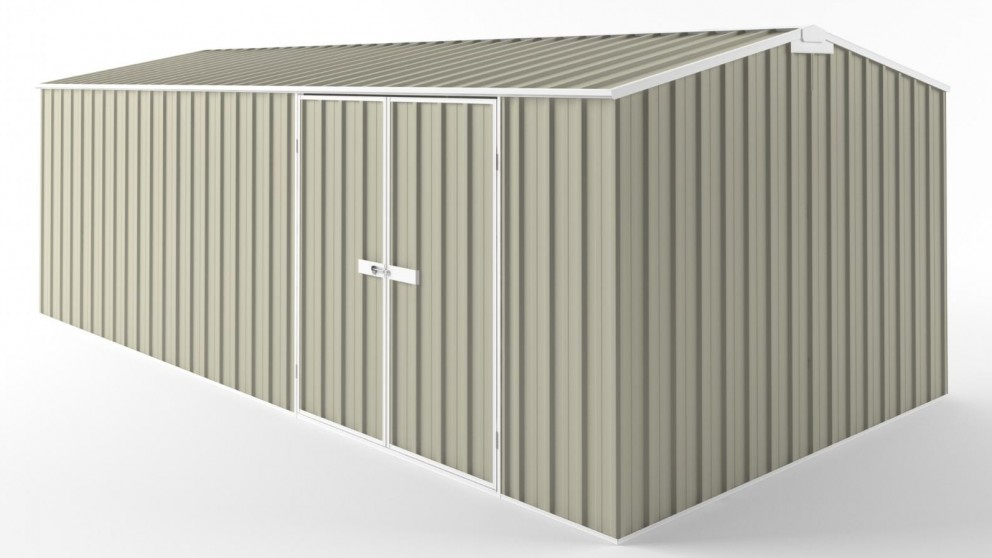 EasyShed D6030 Tall Truss Roof Garden Shed - Merino