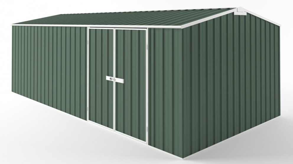 EasyShed D6030 Tall Truss Roof Garden Shed - Rivergum