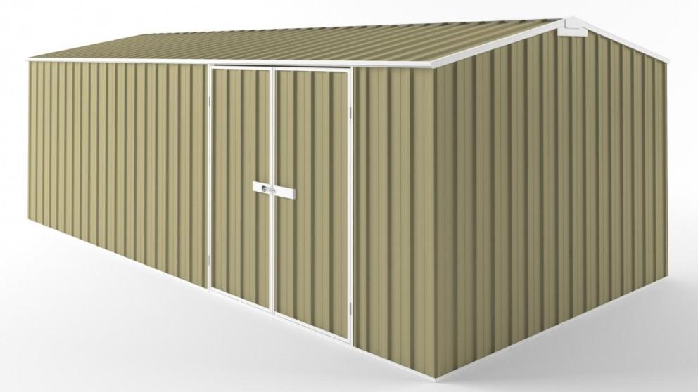 EasyShed D6030 Tall Truss Roof Garden Shed - Sandalwood