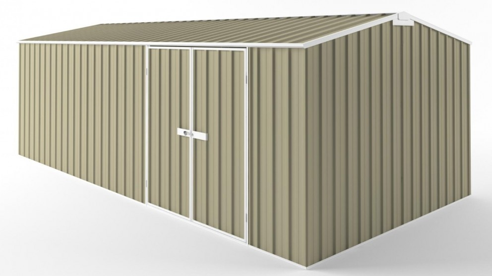 EasyShed D6030 Tall Truss Roof Garden Shed - Wheat