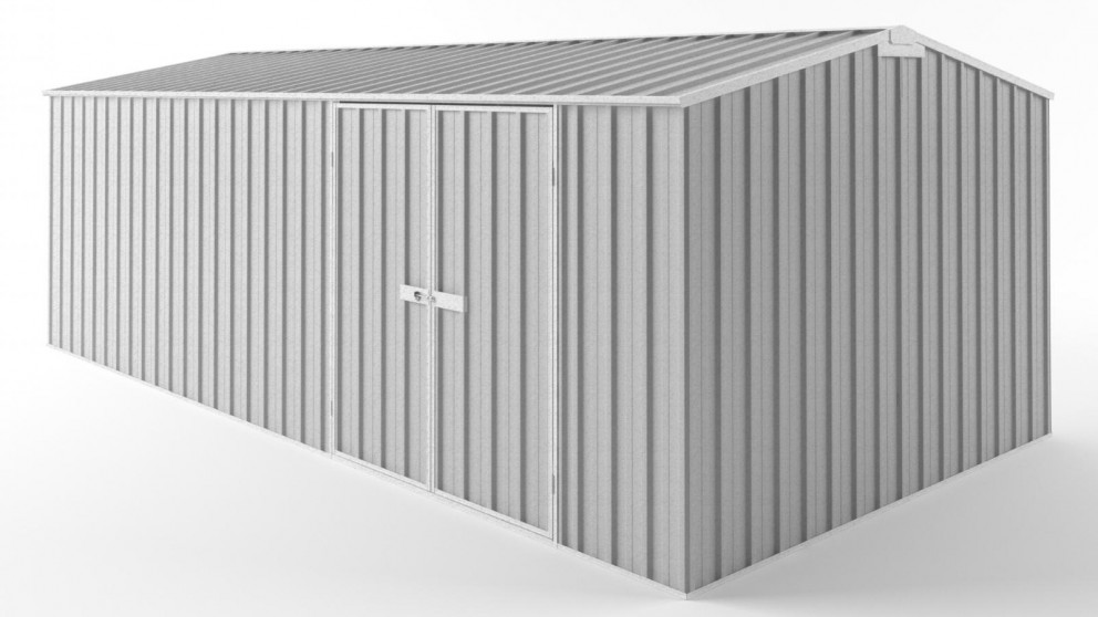 EasyShed D6030 Tall Truss Roof Garden Shed - Zincalume
