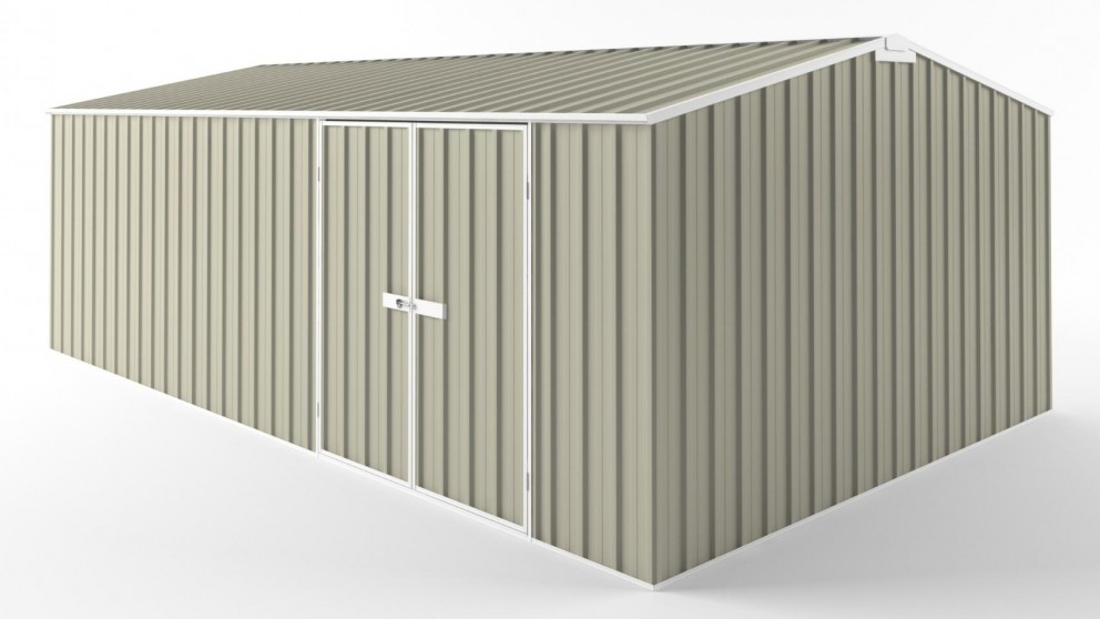 EasyShed D6038 Tall Truss Roof Garden Shed - Merino