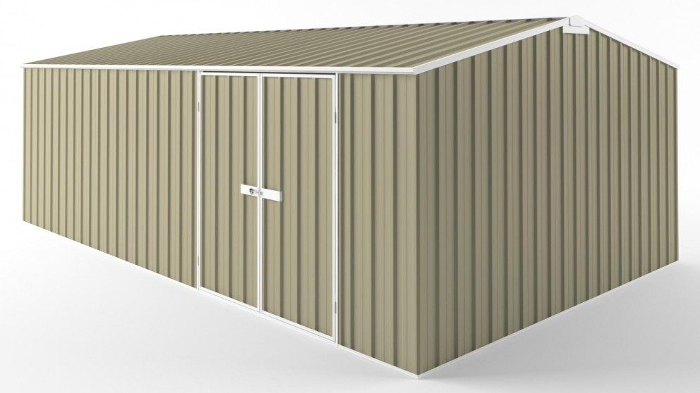 EasyShed D6038 Tall Truss Roof Garden Shed - Wheat