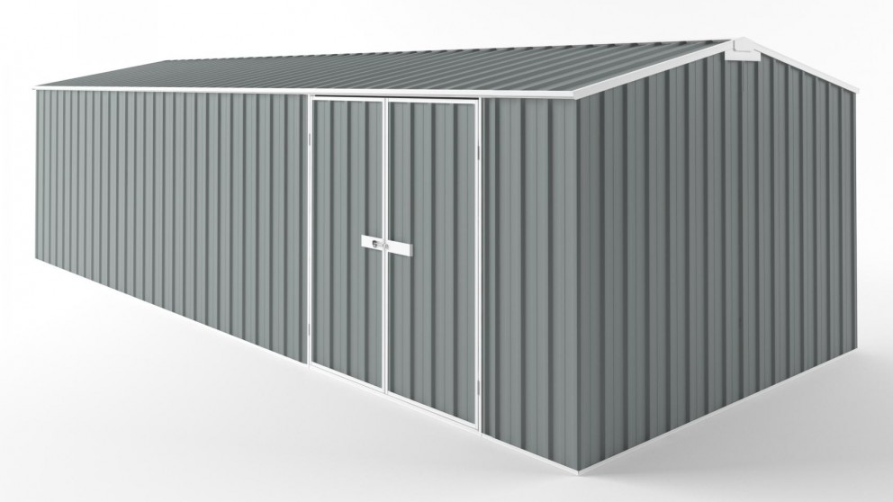 EasyShed D7530 Tall Truss Roof Garden Shed - Armour Grey