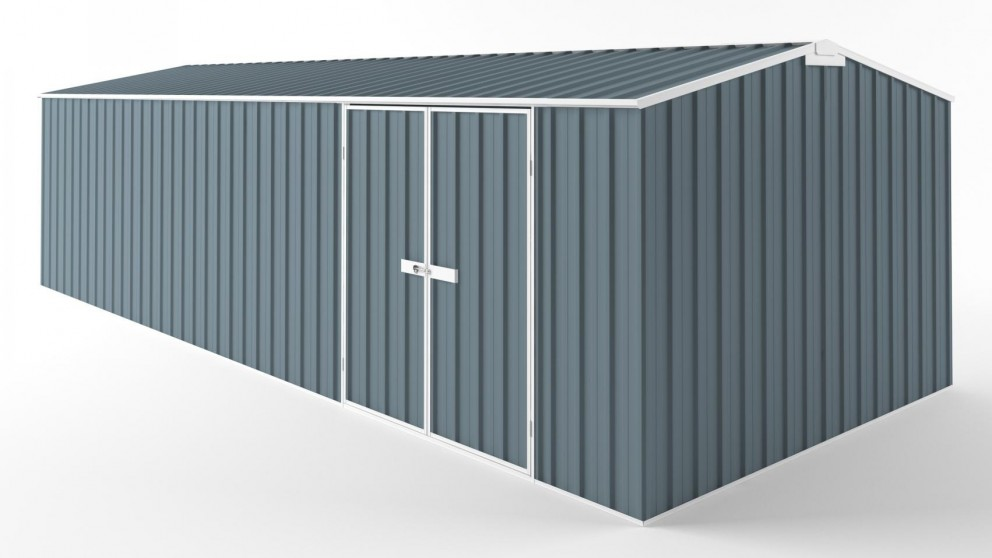 EasyShed D7530 Tall Truss Roof Garden Shed - Blue Horizon