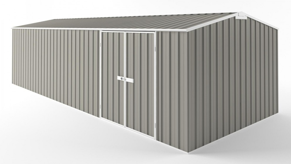 EasyShed D7530 Tall Truss Roof Garden Shed - Birch