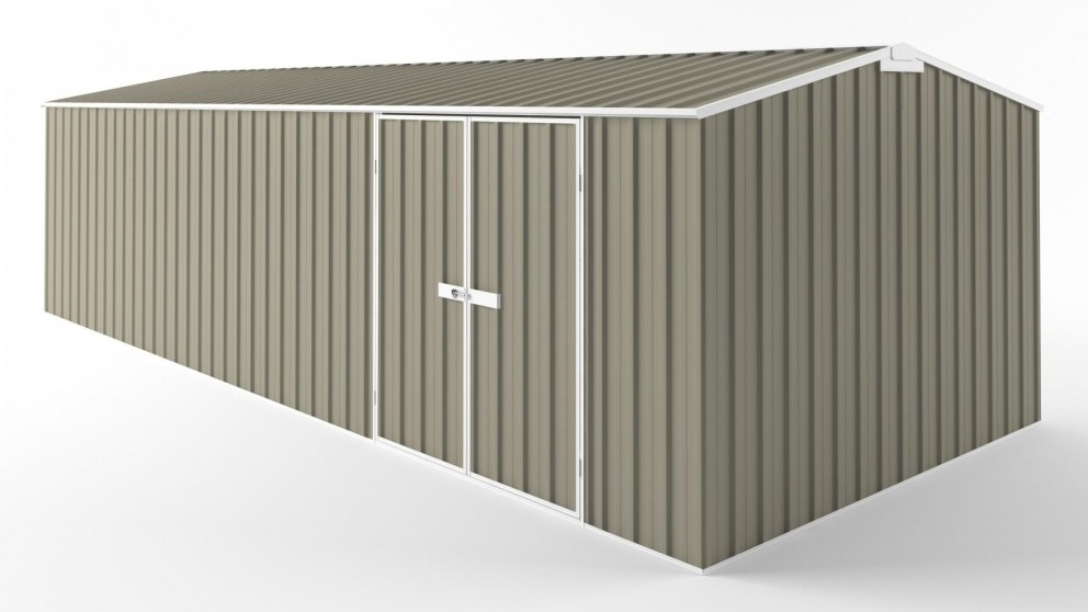 EasyShed D7530 Tall Truss Roof Garden Shed - Stone