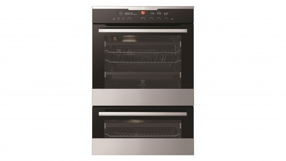 Buy electrolux 60cm pyroluxe duo multi function oven for Kitchen set electrolux
